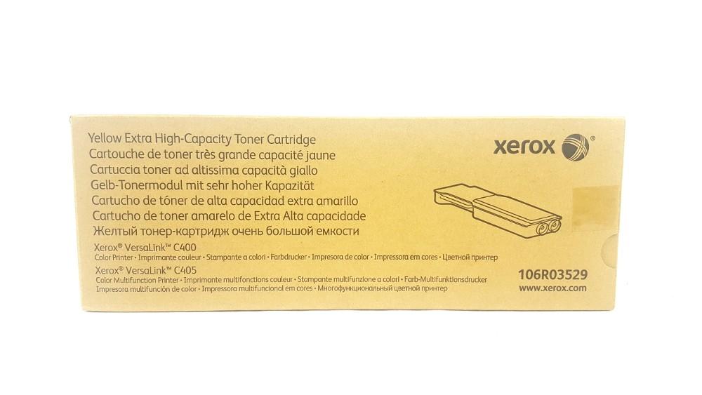 Genuine Xerox 106R03529 Yellow Extra High Capacity Toner Cartridge (106R03529)