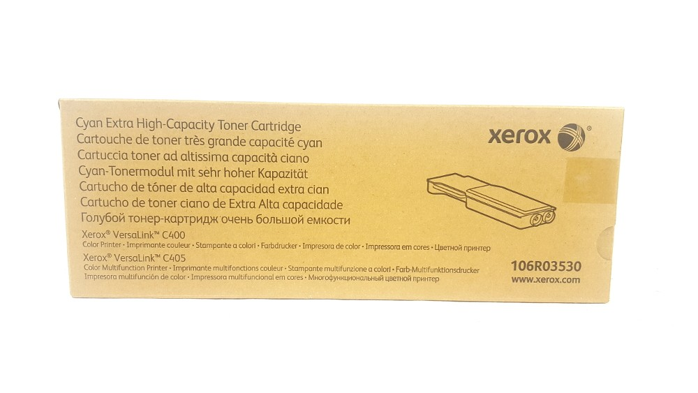 Genuine Xerox 106R03530 Cyan Extra High Capacity Toner Cartridge (106R03530)