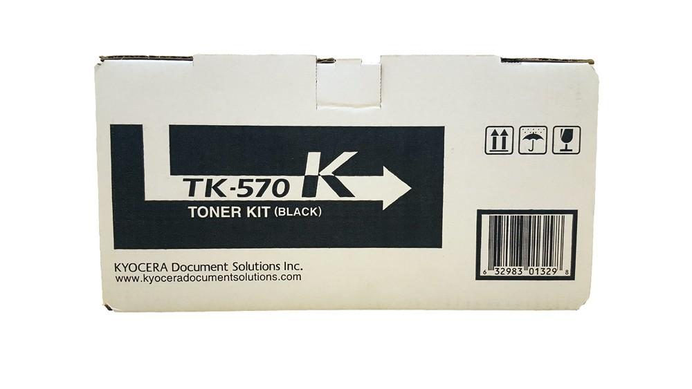 Genuine Kyocera TK-570K Black Toner Cartridge (TK570K)