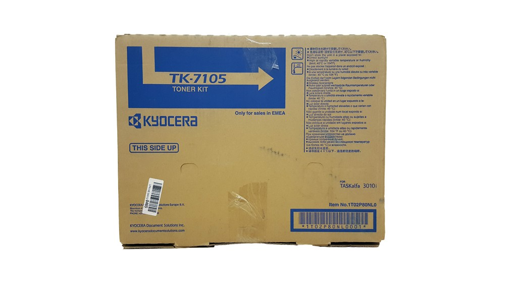 Genuine Black Kyocera TK-7105 Toner Cartridge - (TK7105)
