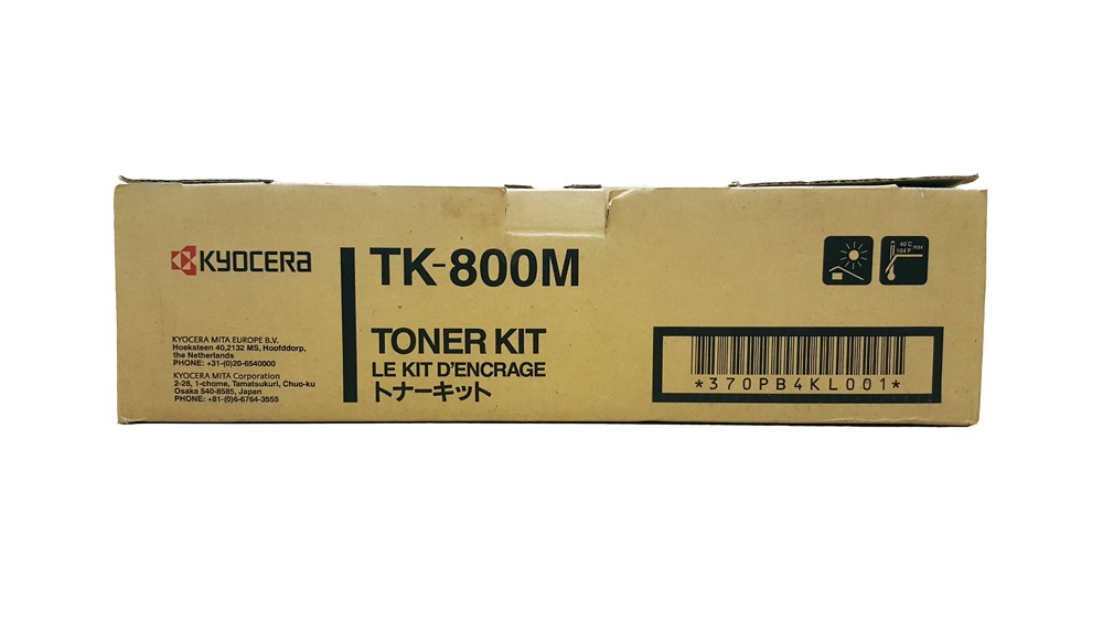 Genuine Magenta Kyocera TK-800M Toner Cartridge (TK800M)