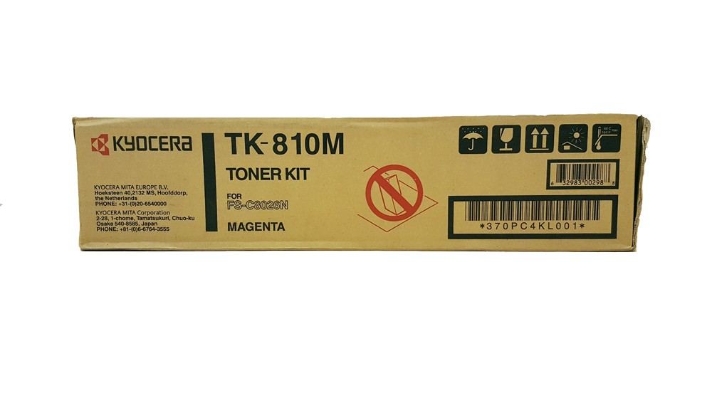 Genuine Magenta Kyocera TK-810M Toner Cartridge - (TK810M)