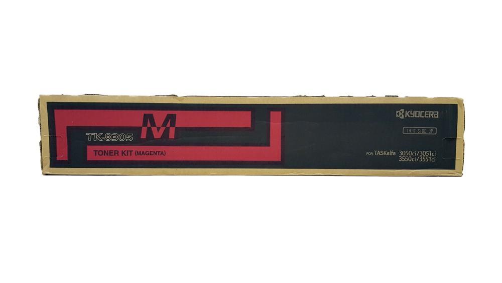 Genuine Magenta Kyocera TK-8305M Toner Cartridge - (TK8305M)
