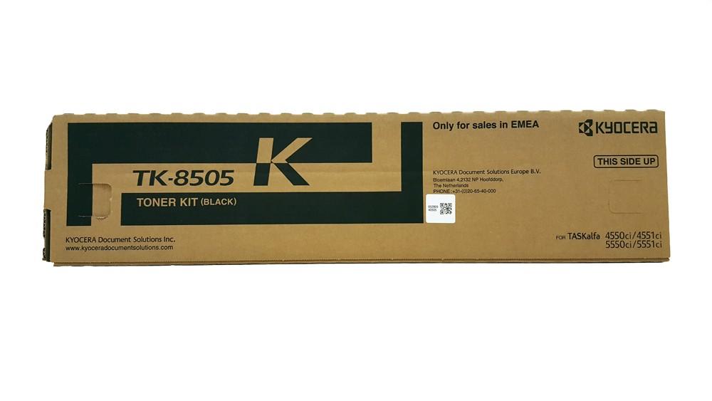 Genuine Black Kyocera TK-8505K Toner Cartridge - (TK8505K)