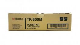 Genuine Magenta Kyocera TK-800M Toner Cartridge (TK800M)
