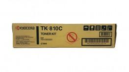 Genuine Cyan Kyocera TK-810C Toner Cartridge - (TK-810C)