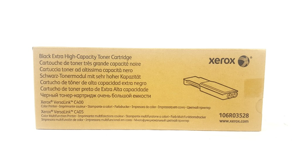 Genuine Xerox 106R03528 Black Extra High Capacity Toner Cartridge (106R03528)