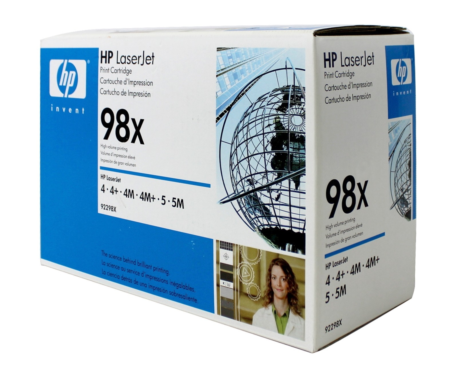 Genuine HP 98X High Capacity Black Toner Cartridge (92298X)