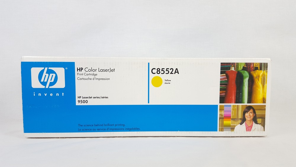 Genuine HP C8552A Yellow Toner Cartridge (C8552A)