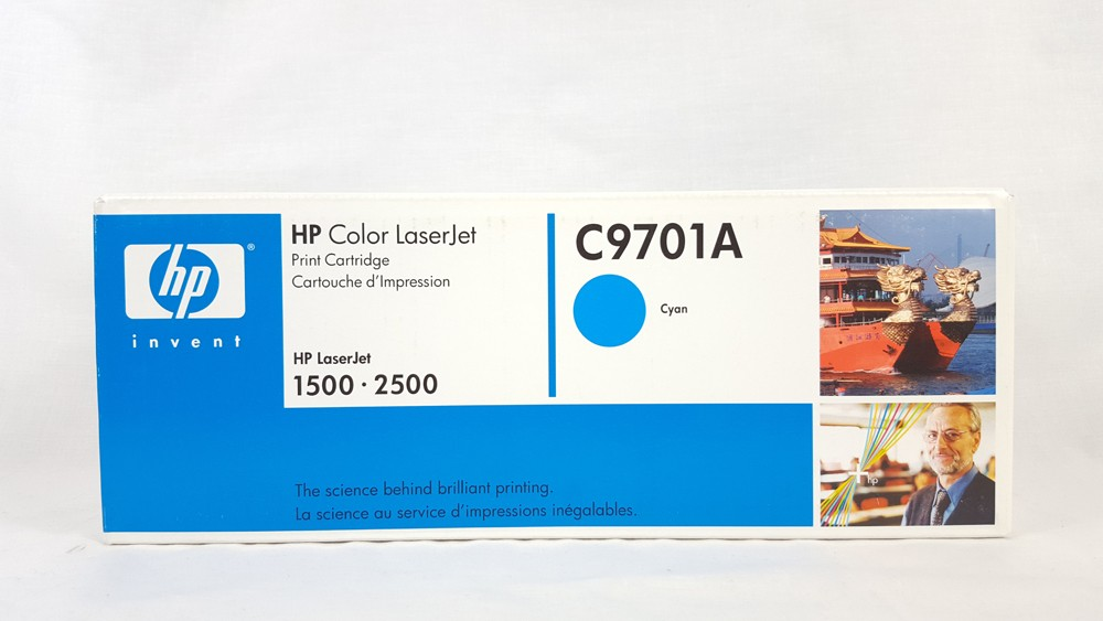 Genuine HP C9701A Cyan Toner Cartridge (C9701A)