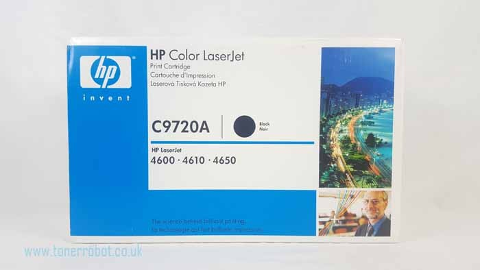 Genuine HP C9720A Black Toner Cartridge (C9720A)