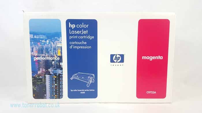 Genuine HP C9723A Magenta Toner Cartridge (C9723A)