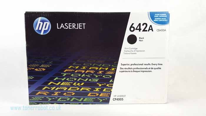 Genuine HP CB400A Black Toner Cartridge (CB400A)