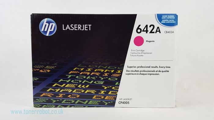 Genuine HP CB403A Magenta Toner Cartridge (CB403A)