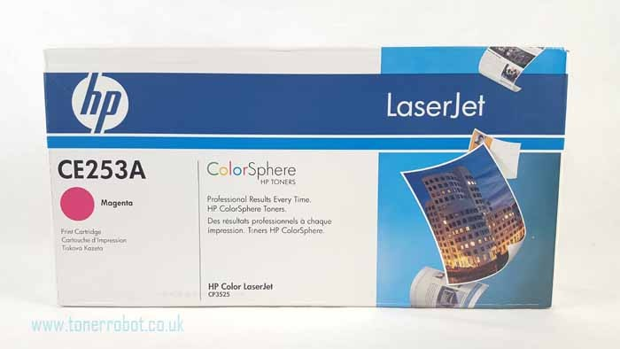 Genuine HP CE253A Magenta Toner Cartridge (CE253A)