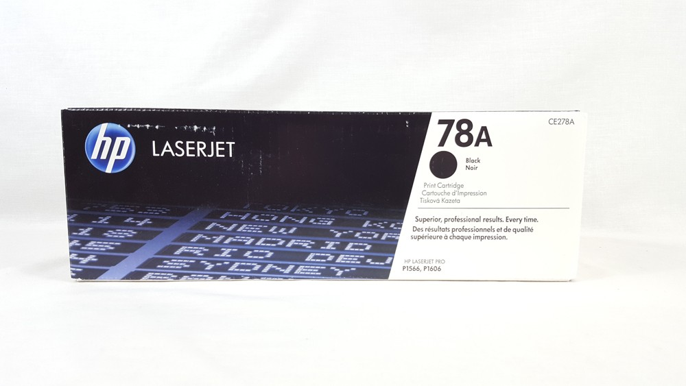Genuine HP 78A Black Toner Cartridge (CE278A)