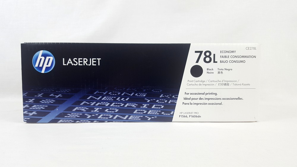 Genuine HP 78L Economy Black Original LaserJet Toner Cartridge (CE278L)