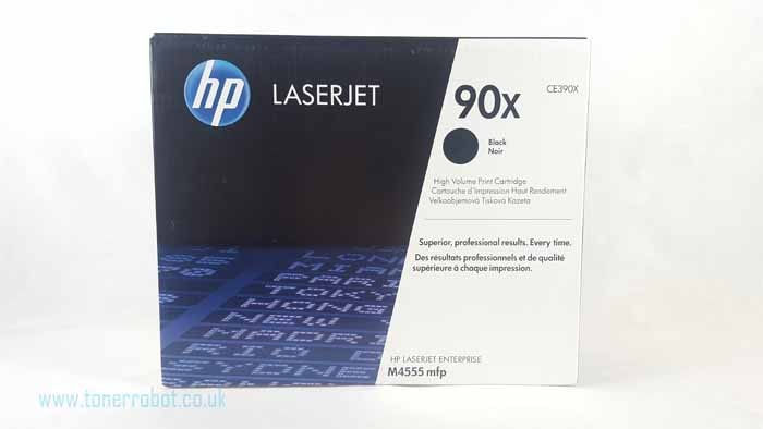 Genuine HP 90X High Capacity Black Toner Cartridge (CE390X)