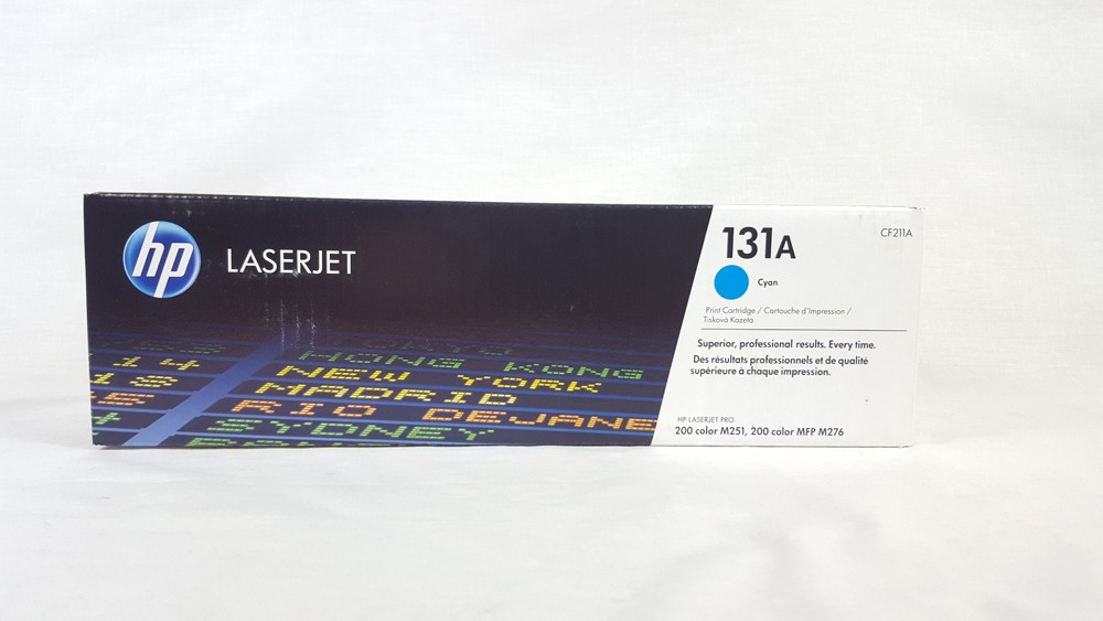 Genuine HP 131A Cyan Toner Cartridge (CF211A)