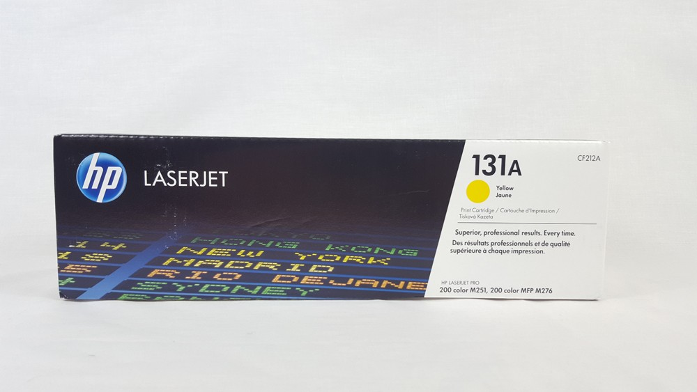 Genuine HP 131A Yellow Toner Cartridge (CF212A)