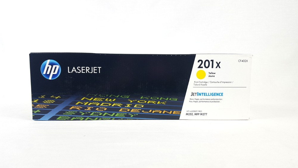Genuine HP 201X High Yield Yellow Original LaserJet Toner Cartridge (CF402X)