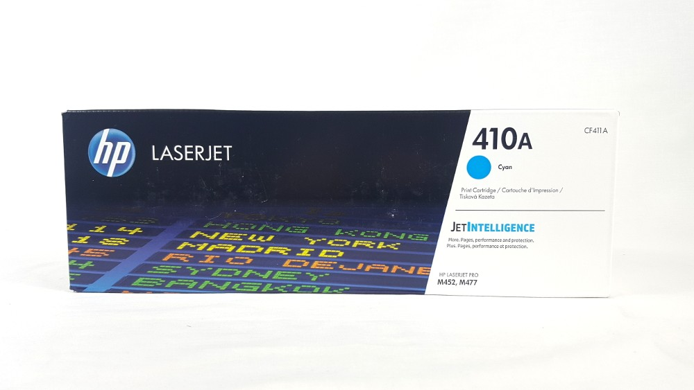 Genuine HP 410A Cyan Original LaserJet Toner Cartridge (CF411A)