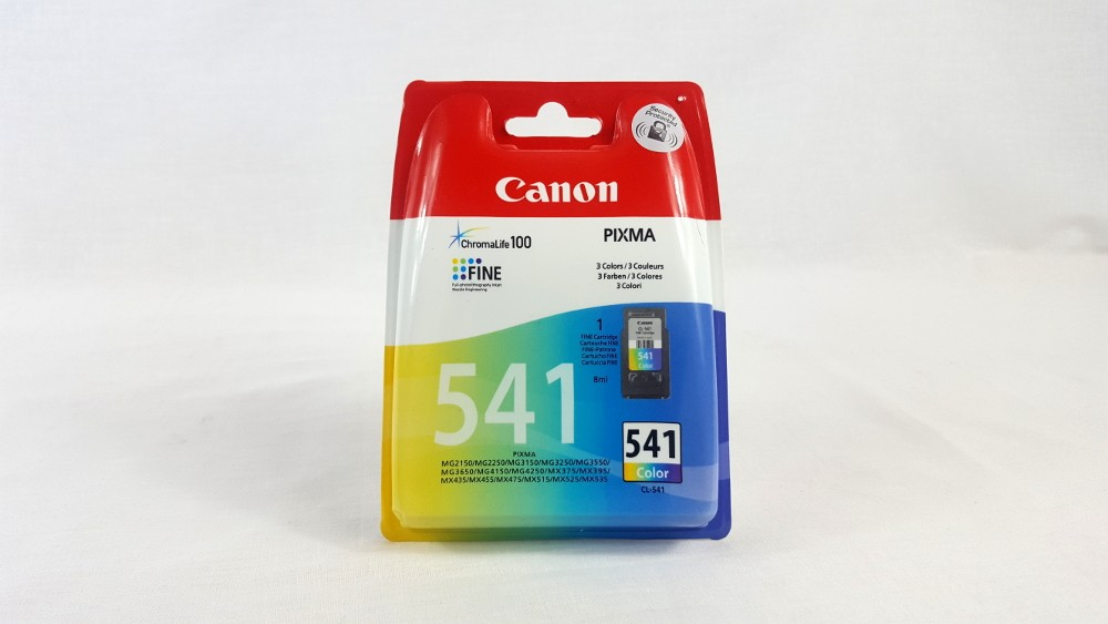 Genuine Canon CL-541 C/M/Y Colour Ink Cartridge (5227B005)