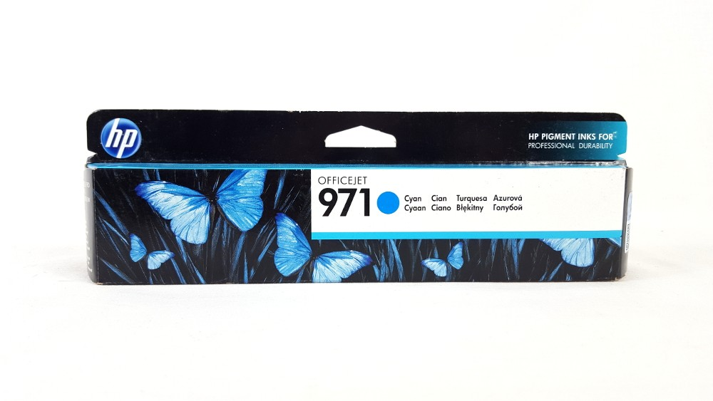 Genuine HP 970 Cyan (CN622AE) Ink Cartridge