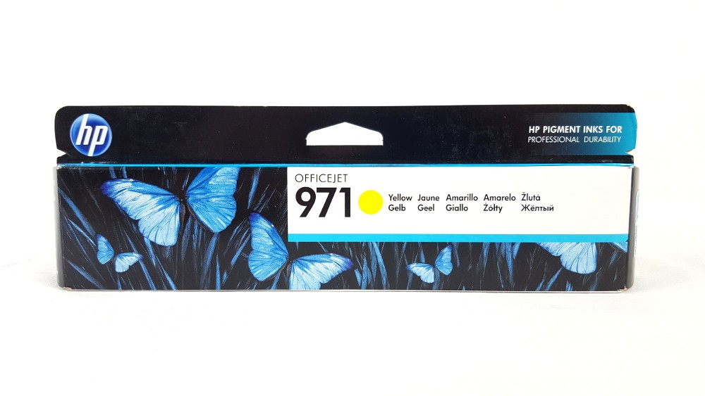 Genuine HP 970 Yellow (CN624AE) Ink Cartridge
