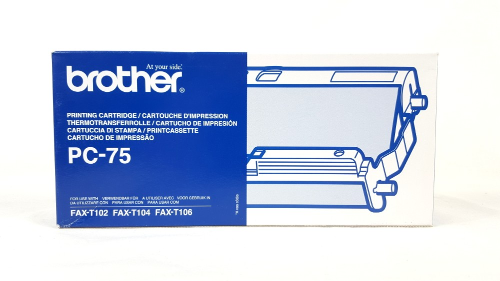 Genuine Brother PC75 Thermal Ribbon Cartridge (PC-75)