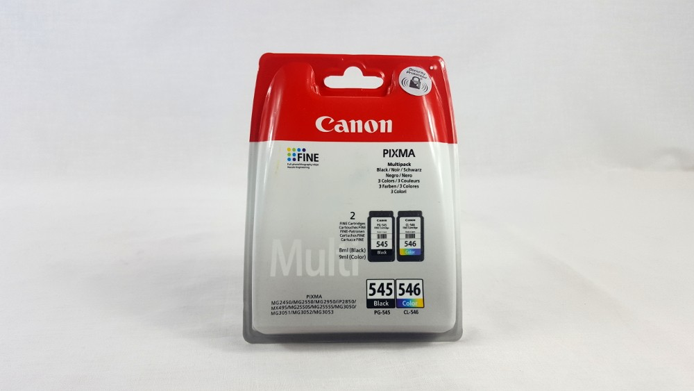 Genuine Canon PG-545/CL-546 BK/C/M/Y Ink Cartridge Multipack (8287B005)