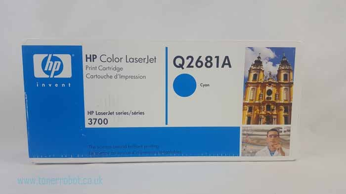 Genuine HP Q2681A High Capacity Cyan Toner Cartridge (Q2681A)