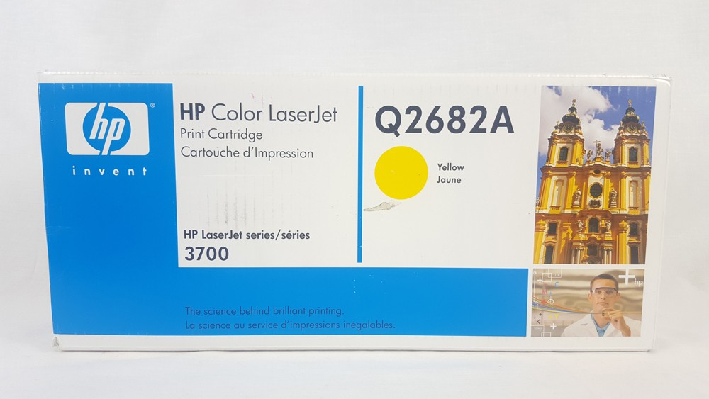 Genuine HP Q2682A High Capacity Yellow Toner Cartridge (Q2682A)