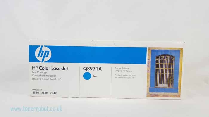 Genuine HP Q3971A Light User Cyan Toner Cartridge (Q3971A)