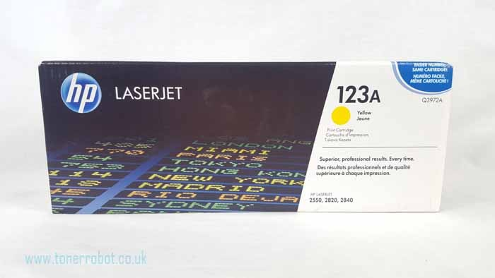 Genuine HP Q3972A Light User Yellow Toner Cartridge (Q3972A)