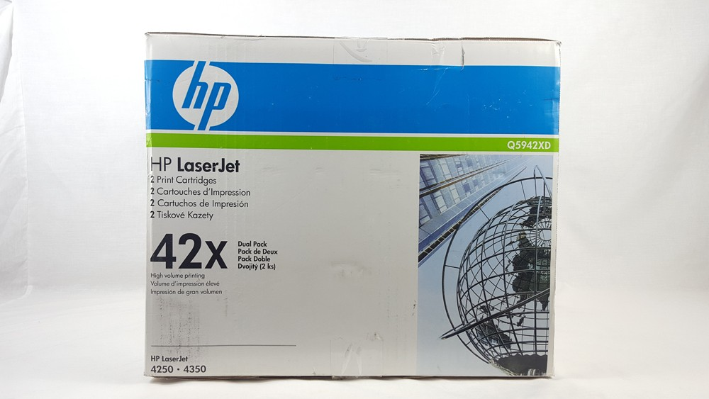 Genuine HP 42X Toner Dual Pack (Q5942XD)