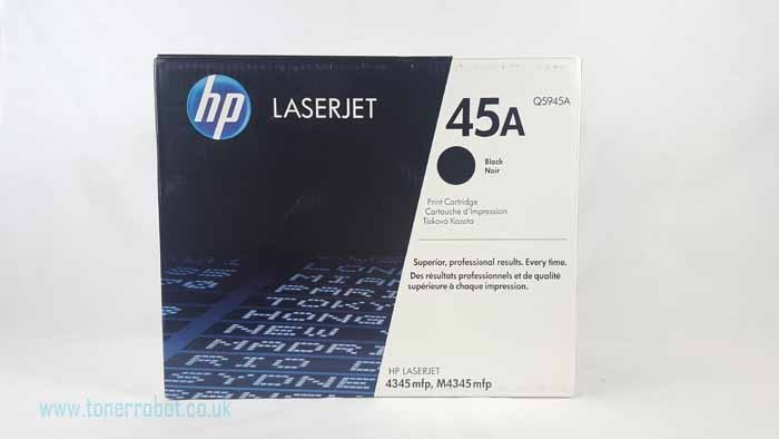 Genuine HP 45A Black Toner Cartridge (Q5945A)