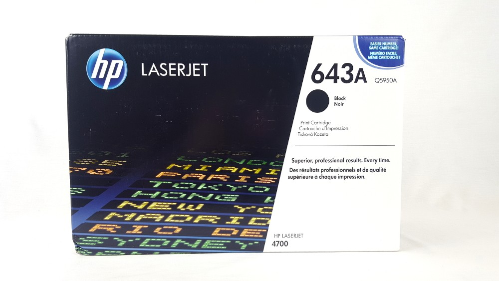 Genuine HP Q5950A Black Toner Cartridge (Q5950A)