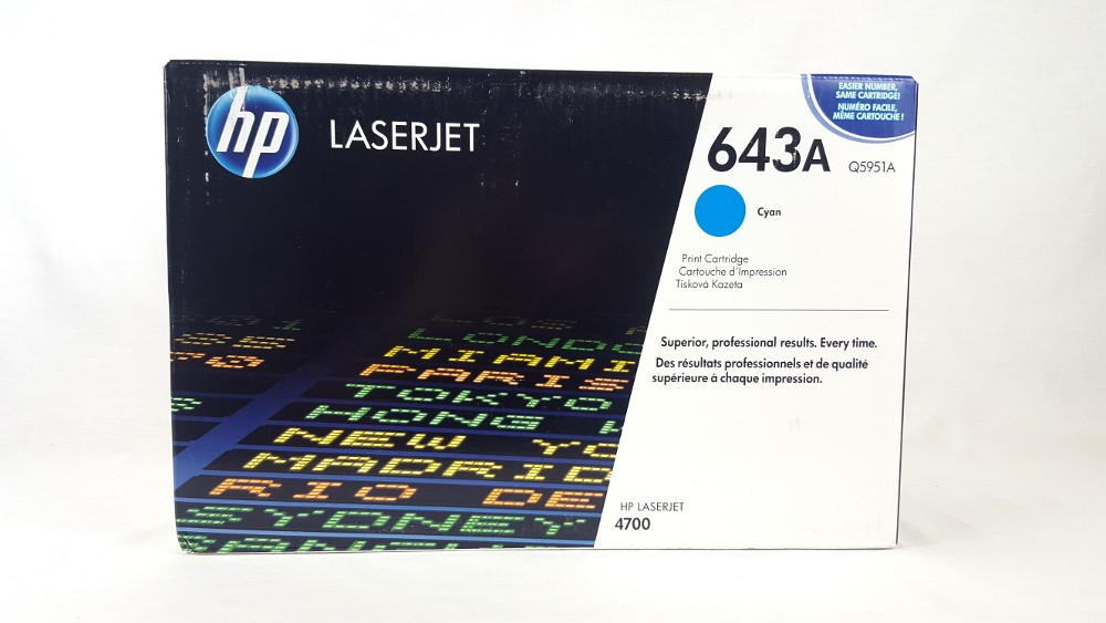 Genuine HP Q5951A Cyan Toner Cartridge (Q5951A)