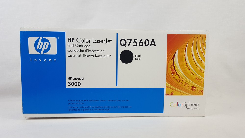 Genuine HP Q7560A Black Toner Cartridge (Q7560A)