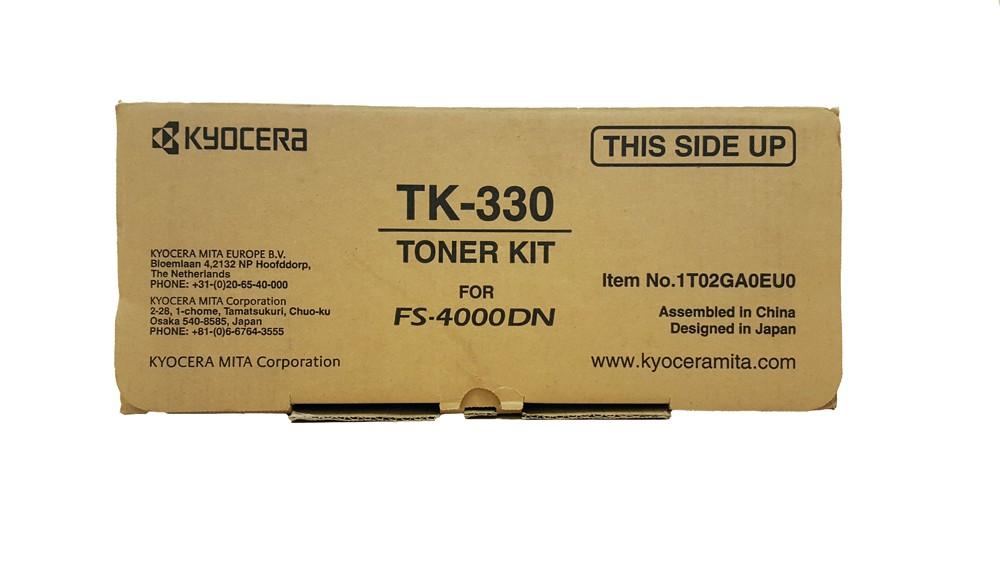 Genuine Kyocera TK-330 High Capacity Black Toner Cartridge (TK330)