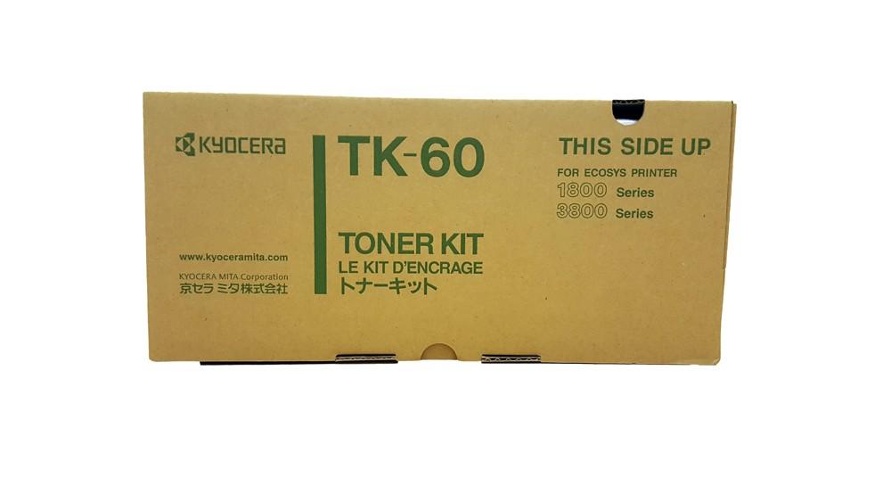 Genuine Black Kyocera TK-60 Toner Cartridge (TK60)