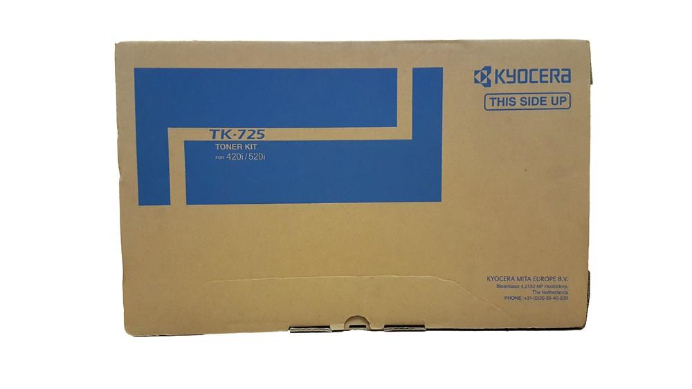 Genuine Black Kyocera TK-725 Toner Cartridge - (TK725)