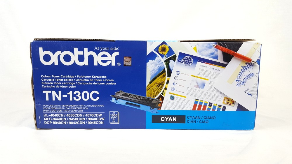 Genuine Brother TN130C Cyan Toner Cartridge (TN-130C)