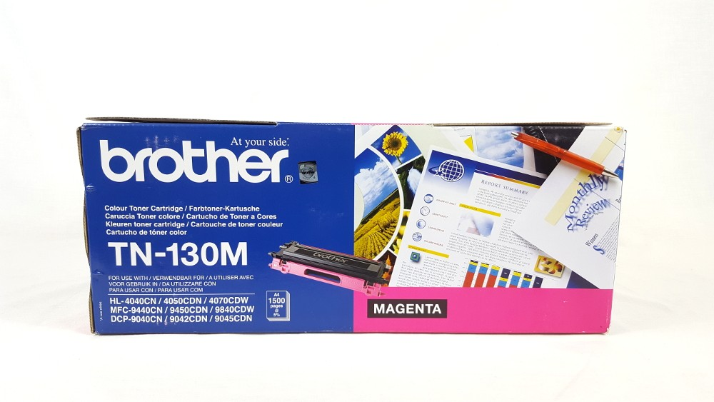 Genuine Brother TN130M Magenta Toner Cartridge (TN-130M)
