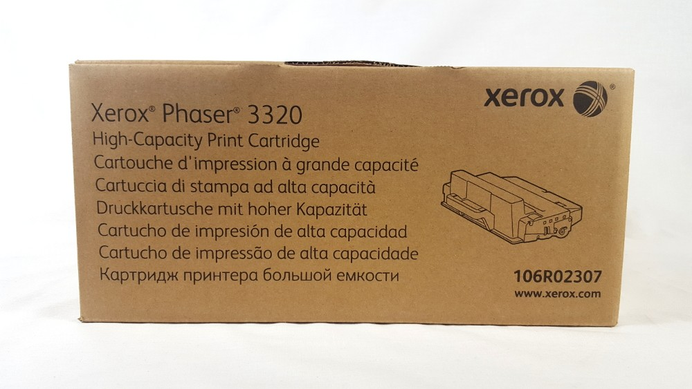Genuine Xerox 106R02307 Black High Capacity Print Cartridge (106R02307)
