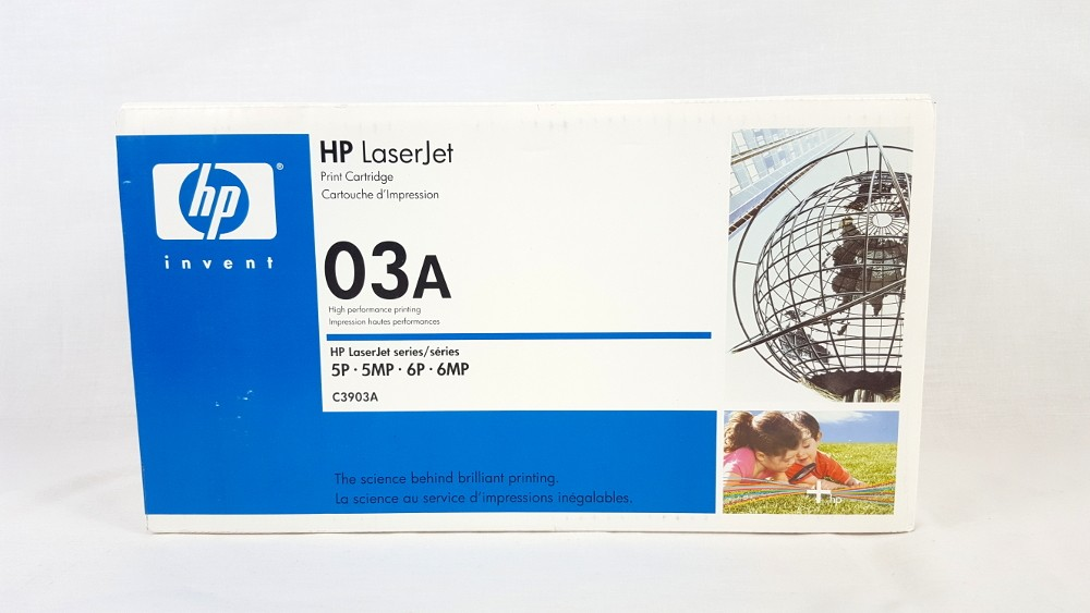 Genuine HP 03A Black Toner Cartridge (C3903A)