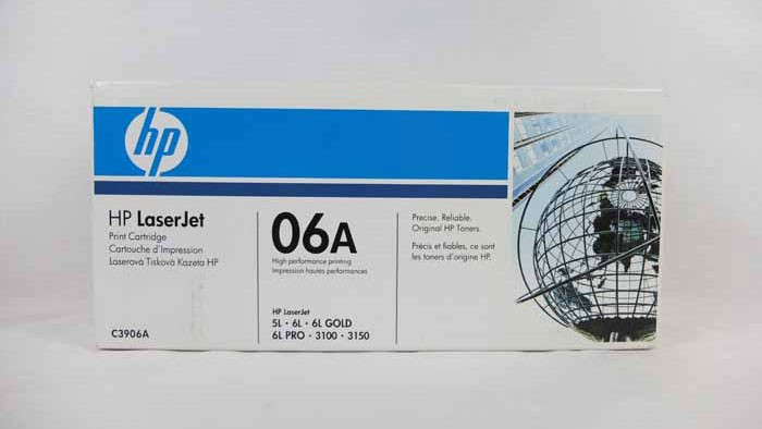 Genuine HP 06A Toner Cartridge (C3906A)