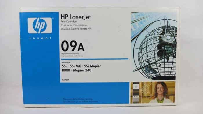 Genuine HP 09A Black Toner Cartridge (C3909A)