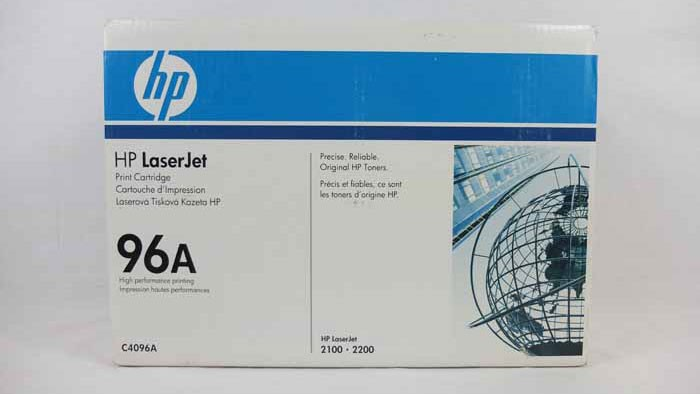 Genuine HP 96A Black Toner Cartridge (C4096A)